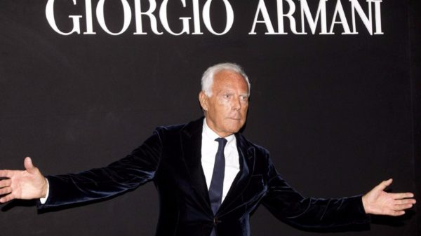 Giorgio Armani reflects on the possible scenarios of fashion after the coronavirus
