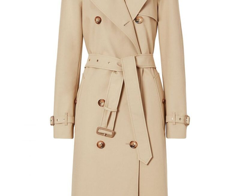 burberry trench donna