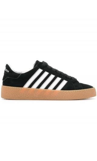 Sneakers velour + vitello sport