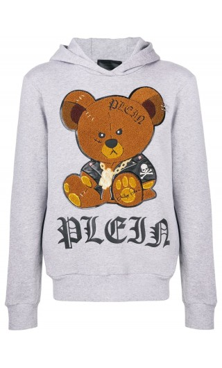 Felpa cappuccio Teddy Bear
