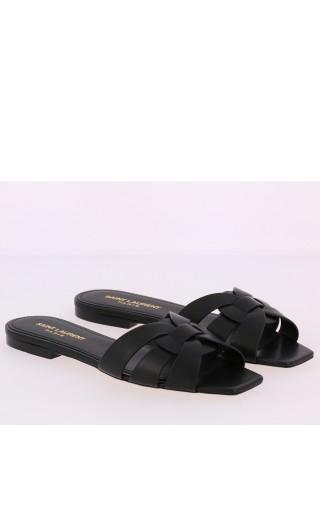 Sandalo tacco basso