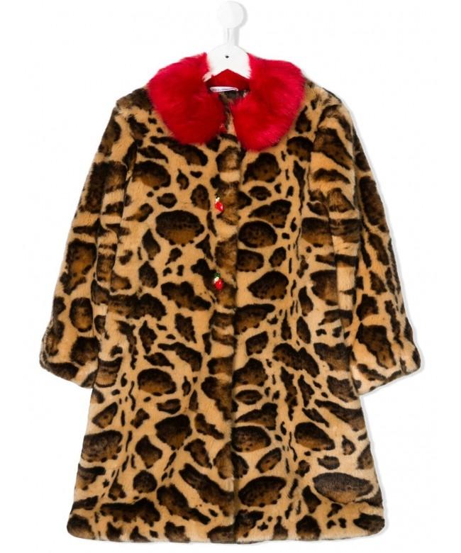 Cappotto animal print ghepard