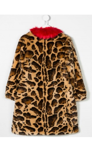 Cappotto animal print ghepard