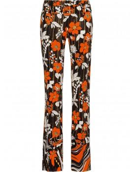 Pantalone organzino flower