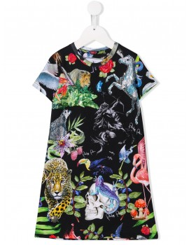 Abito T-shirt Jungle
