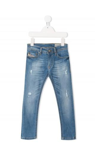 Jeans 5 tasche Sleenker - J