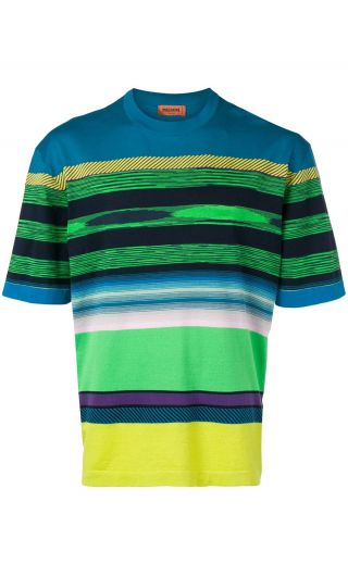T-Shirt in maglia over reversibile