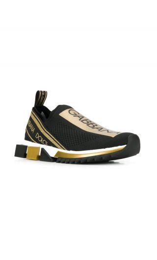 Sneakers bassa maglina + nastro logo