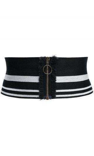 Cintura elastica c/zip