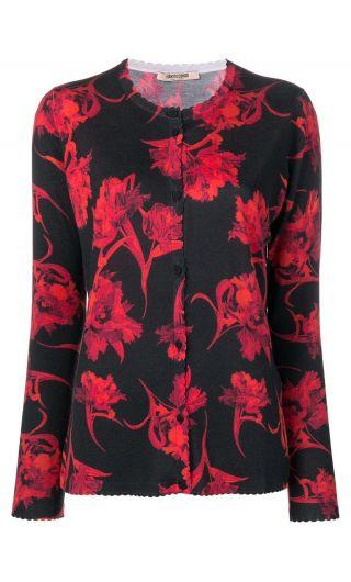 Cardigan maglia micro parrot st.tulipani