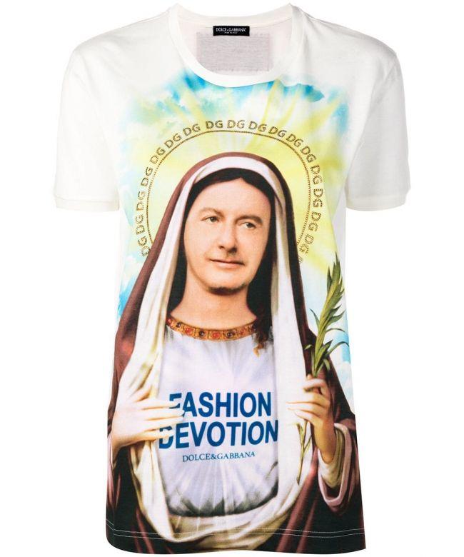 T-Shirt mm st.Santa Moda