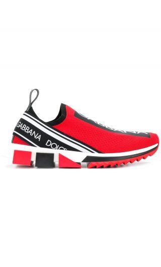 Sneakers bassa maglina + elastico