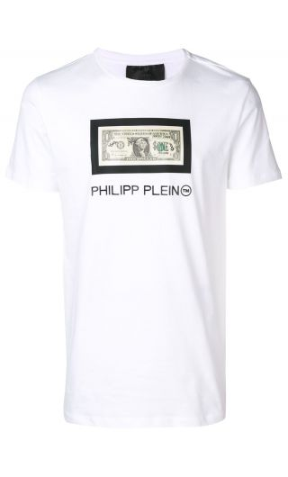 T-Shirt Platinum mm giro Philipp Plein Tm