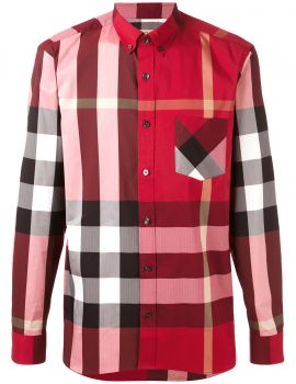 Camicia ml stretch bd motivo tartan