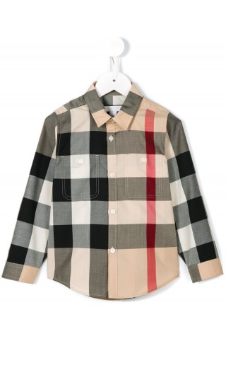 CAMICIA ML MOTVO CHECK MINI CAMBER