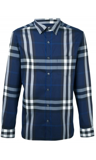 CAMICIA ML STRETCH MOTIVO TARTAN