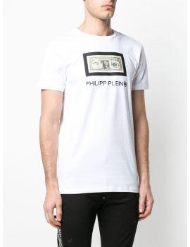 T-Shirt Platinum mm giro Philipp Plein Tm