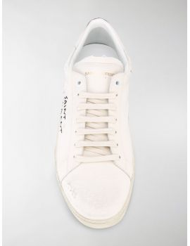 SNEAKERS TELA SAIN LAURENT IMPUTURATO