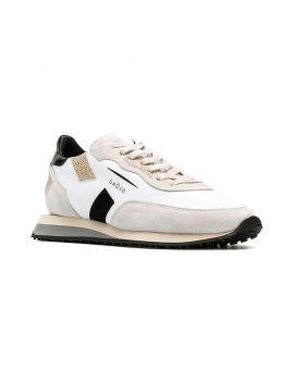 Sneakers pelle bassa