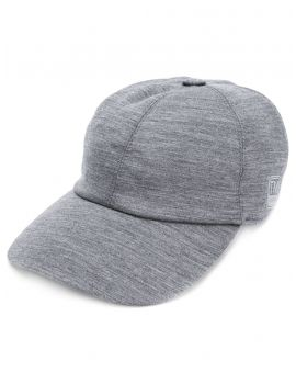 Cappellino da baseball in techmerino