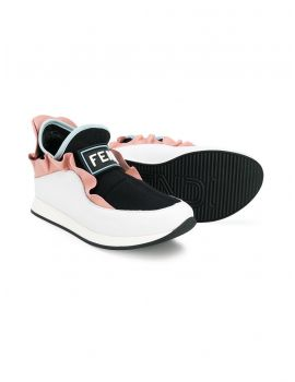 Sneakers mix lycra + nappa + vitello