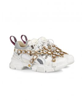 Sneakers tessuto rete