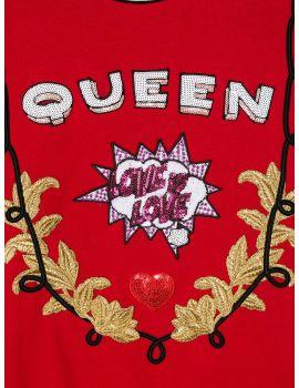 Felpa ml giro Queen