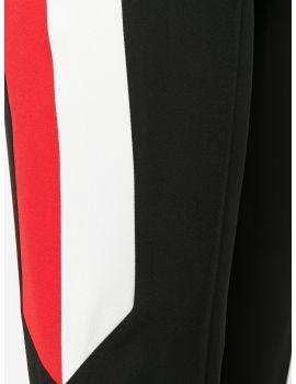 Pantaloni con elastico e strisce grafiche