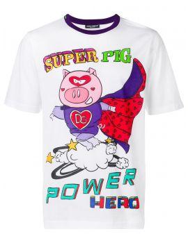 T-Shirt mm giro st. Super Pig