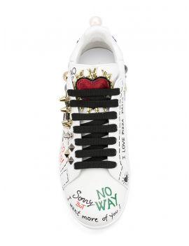 Sneakers classica vitello nappa