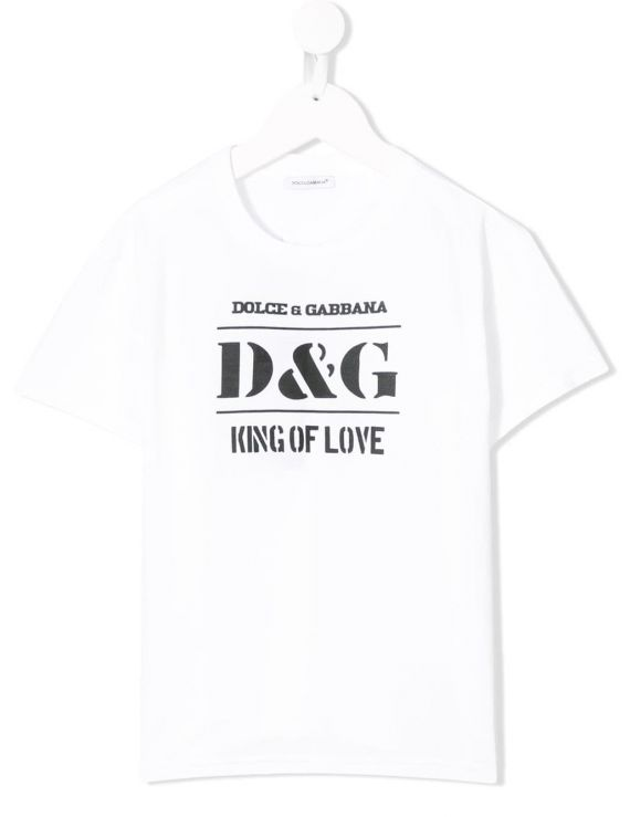 T-SHIRT MM GIRO D&G KING OF LOVE