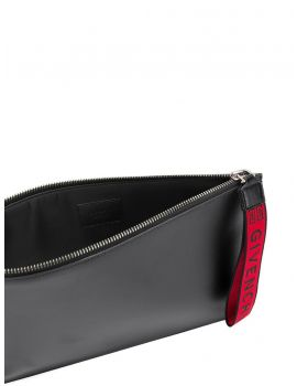 Pochette grande Givnchy 4G zip e cinturino