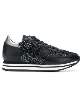 Sneakers Tropez higher flock