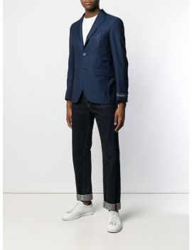 Blazer slim fitt Double B