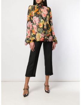 Blouse mix fiori