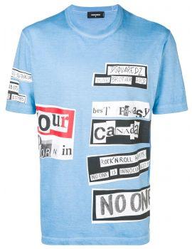 T-Shirt mm giro stampa