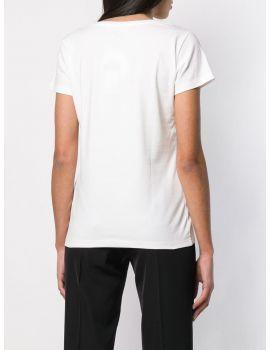 T-Shirt mm ricamo perle