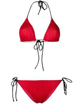 Bikini classico zig zag unito