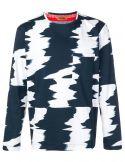 Maglia ml giro jersey stampato