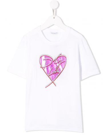 T-Shirt mm giro St.cuore DG