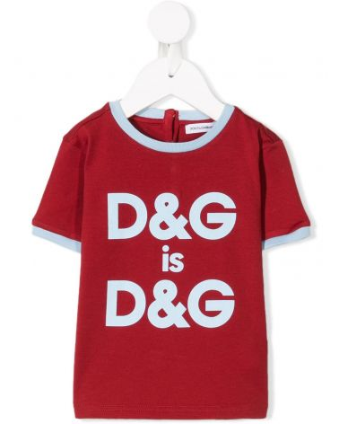 T-Shirt mm giro D&G is D&G