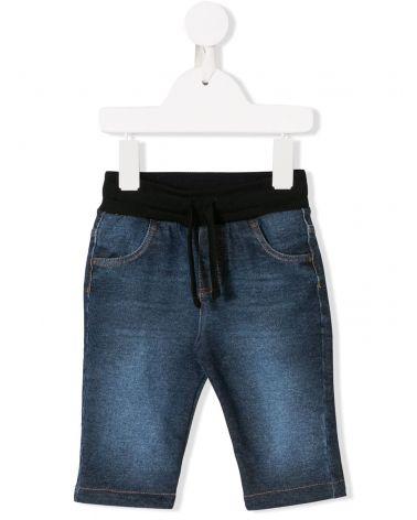 Jeans 5 tasche stretch + etichetta