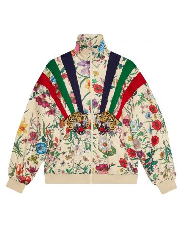 Giubbotto full zip jersey tecnico c/patch