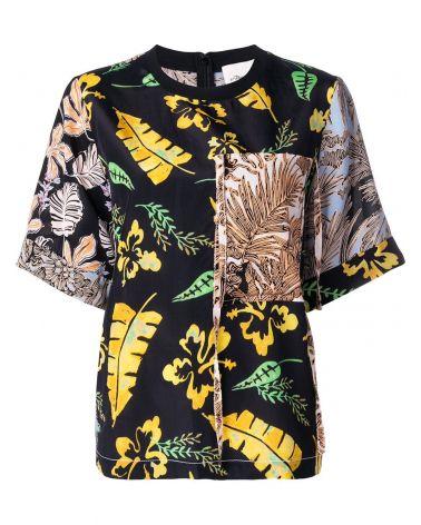 T-Shirt mm giro Patchwork