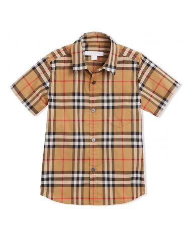 Camicia mm motivo vintage check