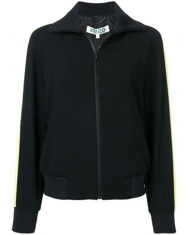 Giubbotto full zip raso