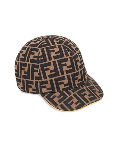 Cappello baseball canvas logo FF