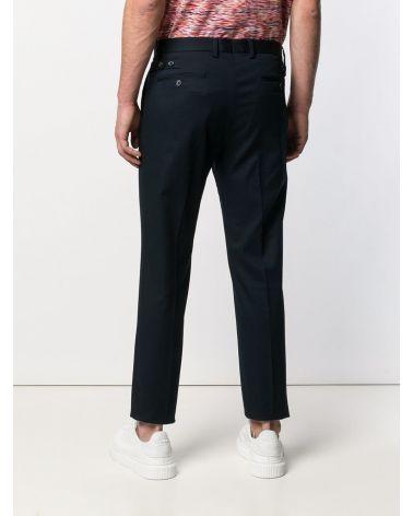Pantalone unito cotone stretch