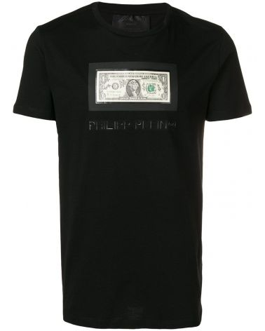 dc126fde7e9 T-Shirt Platinum mm giro Philipp Plein Tm