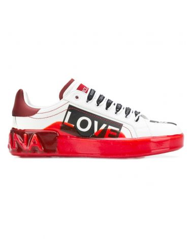 SNEAKERS VITELLO NAPPA SCRITTE